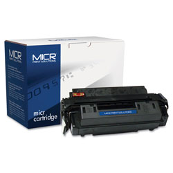 MICR Print Solutions Compatible Q2610A(M) (10AM) MICR Toner, 6000 Page-Yield, Black