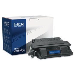 MICR Print Solutions Compatible C4127X(M) (27XM) High-Yield MICR Toner, 10000 Page-Yield, Black