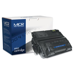 MICR Print Solutions Compatible Q5942A(M) (42AM) MICR Toner, 10000 Page-Yield, Black