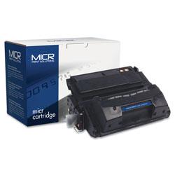 MICR Print Solutions Compatible Q5942X(M) (42XM) High-Yield MICR Toner, 20000 Page-Yield, Black
