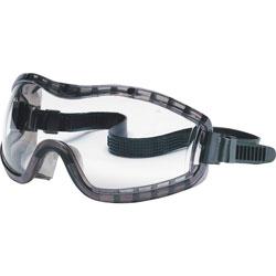 MCR Safety Safety Goggle, w/ Adjustable Strap, Antifog, Clear