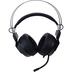 Mad Catz The Authentic F.R.E.Q. 2 Gaming Headset, Black - Stereo - Mini-phone (3.5mm) - Wired - Over-the-head - Binaural - Circumaural - Omni-directional Microphone - Black