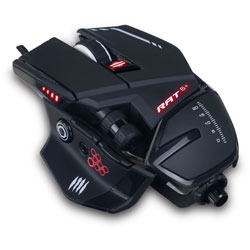 Mad Catz THE AUTHENTIC RAT 6+ GAMING MOU RE-ORDER # MR03MCAMBL00