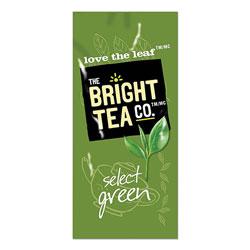 The Bright Tea Co. Tea Freshpack Pods, Select Green, 0.09 oz, 100/Carton