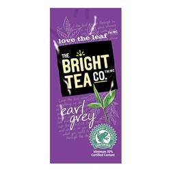 The Bright Tea Co. Tea Freshpack Pods, Earl Grey, 0.09 oz, 100/Carton
