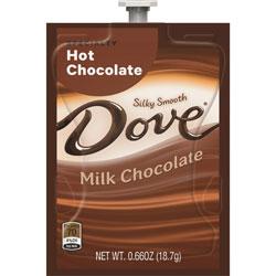 Flavia™ Dove Hot Chocolate, 72/CT, Chocolate