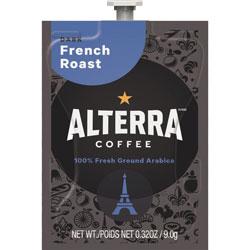 Mars Drinks Alterra French Roast, 100/CT, Black