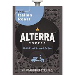 Mars Drinks Alterra Italian Roast Coffee, 100/CT, Black