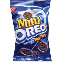 Nabisco Mini Oreo Cookies, 1.5oz., 60/CT