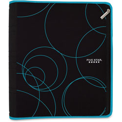 Mead Zip Binder Polyester Covers, 9-1/2 in x 11 in, Ast