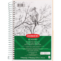 Mead Sketch Journal, Perforated, 67 lb., 6 inWx9 inH, White