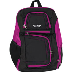 Mead Backpack, Insulated Storage, 13 inWx8 inLx19 inH, Purple/Black