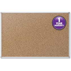 Mead Cork Board, 4 inx3 in, Aluminum
