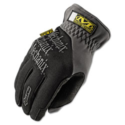 Mechanix Wear FastFit Work Gloves, Black, X-Large