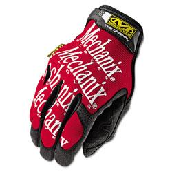 Mechanix Wear The Original Work Gloves, Red/Black, Large