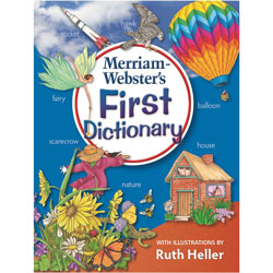 Merriam-Webster First Dictionary, Ages 5-7, Laminated Hardcover, 448 Pages