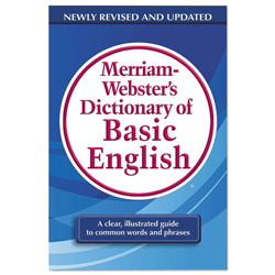 Merriam-Webster Dictionary of Basic English, Paperback, 800 Pages