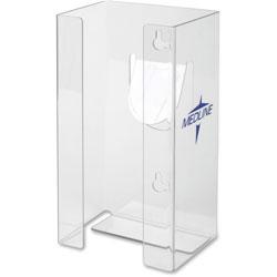 Medline Plexiglass Glove Dispenser Box Holder, Single, Clear