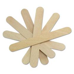 Medline Non-Sterile Tongue Depressors, Wood, 6 in, 500/Box