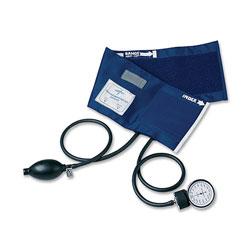 Medline Sphygmomanometer, PVC, Adult, Handheld, Blue