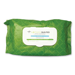 Medline FitRight Select Premium Personal Cleansing Wipes, 8 x 12, 48/Pack