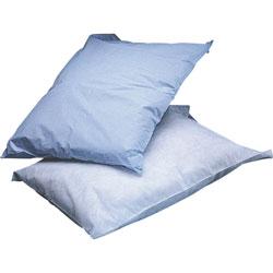 Medline Pillowcases, Poly Tissue, Disposable, 100/BX, Blue