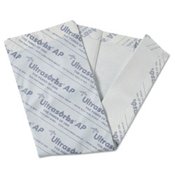 Medline Ultrasorbs AP Underpads, 31 in x 36 in, White, 10/Pack
