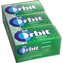 Marjack Wrigley Orbit Chewing Gum, Spearmint