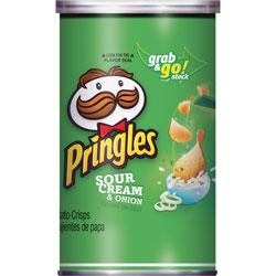 Pringles® Potato Crisps, 2.5oz., 12/CT, Sour Cream/Onion