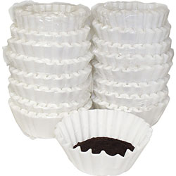 Melitta Coffee Filters, Paper, Basket Style, 12 to 15 Cups, 800/Carton