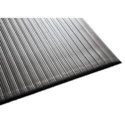 Millennium Mat Company Air Step Antifatigue Mat, Polypropylene, 36 x 60, Black