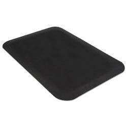 Guardian Pro Top Anti-Fatigue Mat, PVC Foam/Solid PVC, 24 x 36, Black
