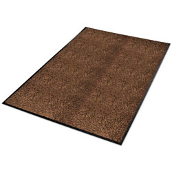Guardian Platinum Series Indoor Wiper Mat, Nylon/Polypropylene, 36 x 60, Brown