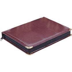 MMF Industries Portable Key Zippered Case, 48-Key Capacity, Burgundy