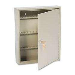 MMF Industries Uni-Tag Key Cabinet, 110-Key,Steel, Sand, 14 x 3 1/8 x 17 1/8