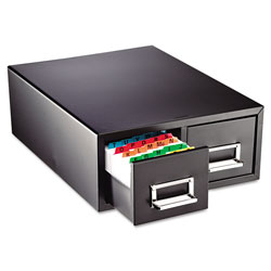 MMF Industries Drawer Card Cabinet Holds 3000 6 x 9 cards, 20 3/8 x 16 x 8 3/8