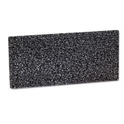 3M Doodlebug Hi-Productivity Stripping Pad, 4 5/8 x 10, Black, 10/Box