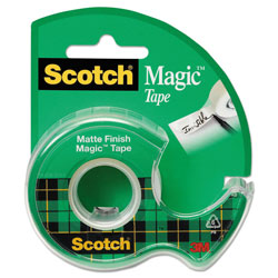 Scotch™ Magic Tape w/Refillable Dispenser, 3/4 in x 300 in, Clear