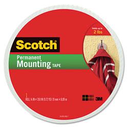 Scotch™ Foam Mounting Double-Sided Tape, 3/4 in Wide x 350 in Long