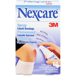 Nexcare No Sting Liquid Bandage Spray