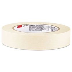 Highland Economy Masking Tape, .94 in x 60.1yds, 3 in Core, Tan