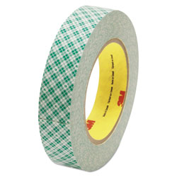 Scotch™ Double-Coated Tissue Tape, 1 in x 36yds, 3 in Core, White