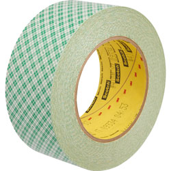 Scotch™ Double-Coated Tape, 3 in Core, 2 inx36 Yards, Clear
