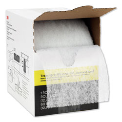 3M Easy Trap Duster, 5 in x 30 ft, White, 1 60 Sheet Roll/Box