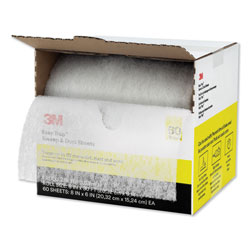 3M Easy Trap Duster, 8 in x 30 ft, White, 1 60 Sheet Roll/Box