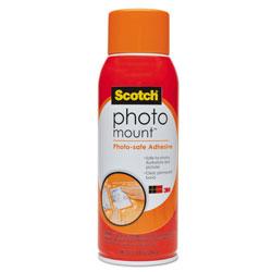 Scotch™ Photo Mount Spray Adhesive, 10.25 oz, Dries Clear