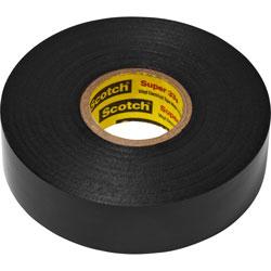 Scotch™ Electrical Tape, 10RL/CT, Black