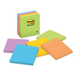 Post-it® Original Pads in Jaipur Colors, 3 x 3, 100-Sheet, 5/Pack