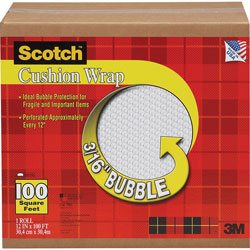 Scotch™ Recyclable Cushion Wrap, 12 in x 100 ft.