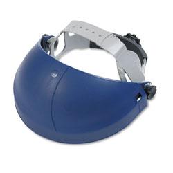 3M Tuffmaster Deluxe Headgear w/Ratchet Adjustment, Blue